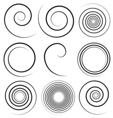 Simple spiral profile set