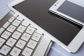 Teclado de ordenador, tablet y smart phone