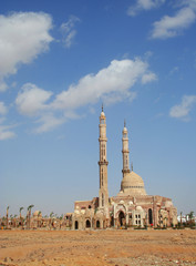 Beautiful mosque in the center of Sharm el Sheikh