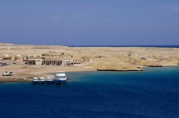 Egyptian fishing vessels