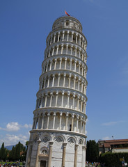 Pisa. The leaning tower