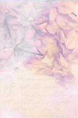 Vintage cherry blossom, background