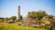 Leinwanddruck Bild - Ancient ruins, Heraion, Samos, Greece