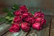Obrazy na płótnie, fototapety, zdjęcia, fotoobrazy drukowane : Background with beautiful roses bouquet.,