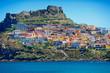 Medieval town Castelsardo, Sardinia, Italy - 68739840