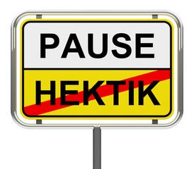 PAUSE - HEKTIK