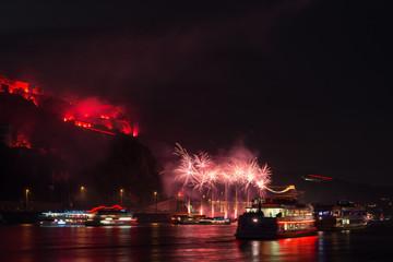 Rhein in Flammen 2014 Koblenz