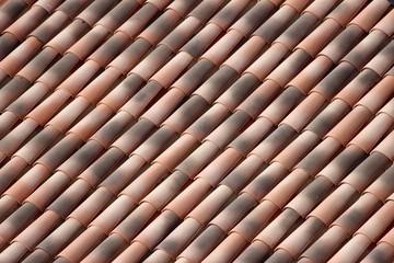 Toiture de tuiles romanes en Provence