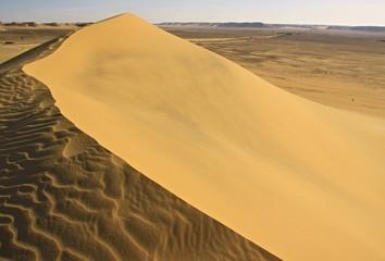 Lybian desert,sand dunes