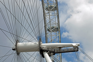 Construction of the London Eye