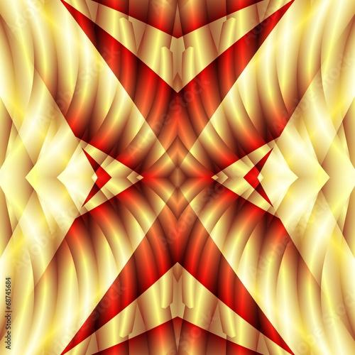 canvas print picture Fractal Background