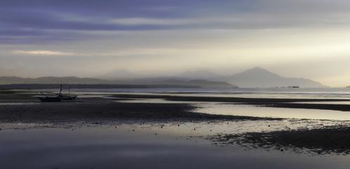 Foggy Low Tide