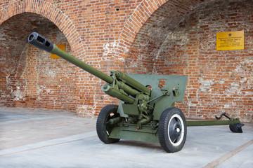 Soviet anti-tank 76 mm gun of the Second World War