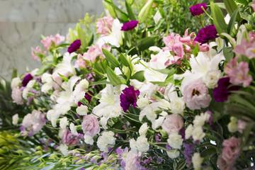 告別式の生花