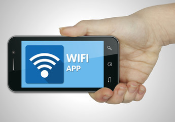 WIFI app. Mobile