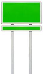 panneau vert