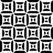 Seamless Monochrome Geometric Pattern
