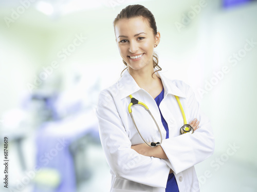 Female Doctor плакат