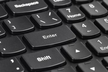 Computer notebook keyboard