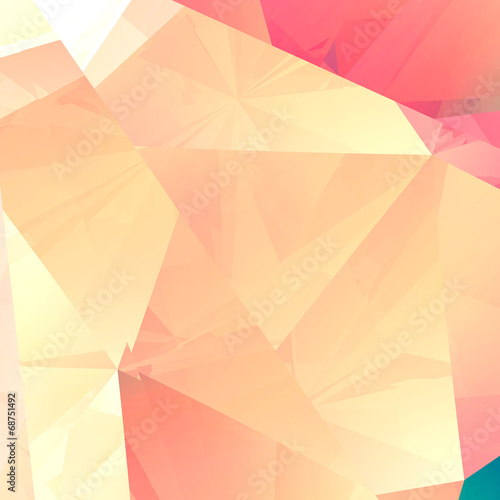 Fotobehang 3d Achtergrond Abstract facet luxury background - computer generated
