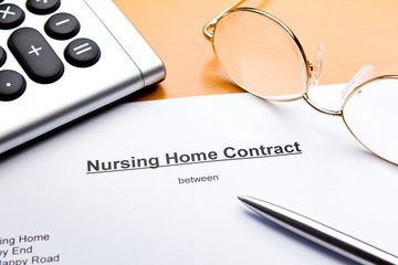 contract nursing or retirement home