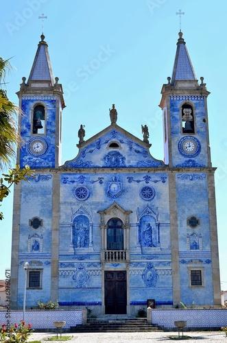 canvas print picture Igreja Matriz de Santa Marinha de Cortegaca