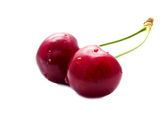 The Couple of Sweet Ripe Cherries