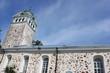 canvas print picture - Die hübsche Steinkirche von Ekenäs (Tammisaari) in Finnland