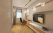 Small Modern Work Room Area