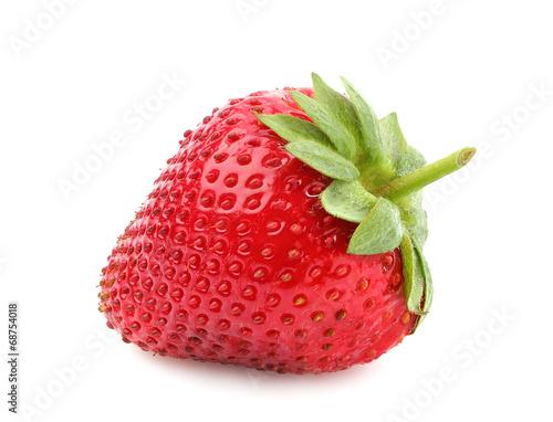 Leinwandbild Motiv Strawberry closeup.