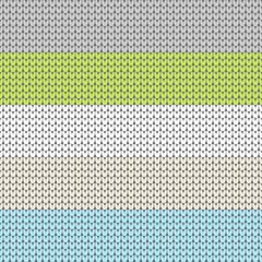 Seamless Pattern Knitted Green/Blue/Boy