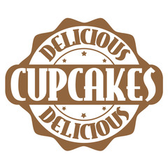Cupcakes stamp