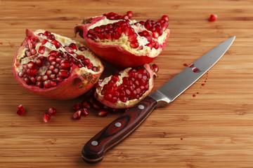 Juicy pomegranate