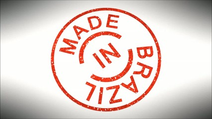 Stempel Made in Brazil