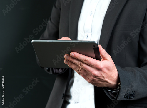 canvas print picture Tablet PC