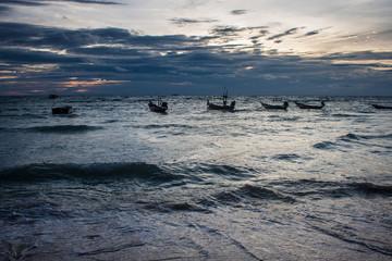 Boats at Ko Tao island, Thailand