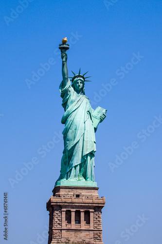 Spoed canvasdoek 2cm dik Standbeeld Statue of liberty