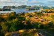canvas print picture - Senja in Norwegen