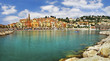 Menton - beautiful town in french riviera
