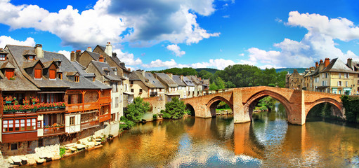 Espalion  - pictorial village  in southern France.