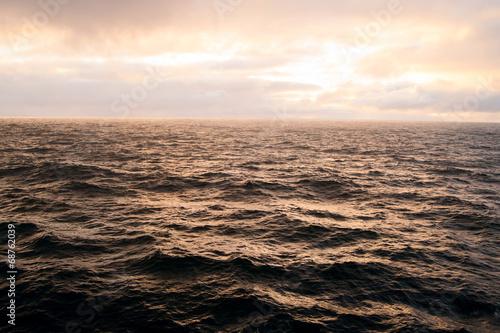 canvas print picture stürmische Küste