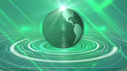 abstract background globe