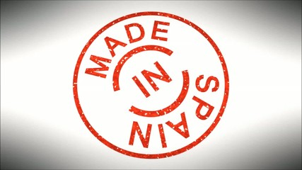 Stempel Made in Spain