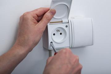 Electric socket repair
