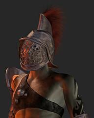 Roman Gladiator Portrait