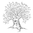 Alter Baum mit Herz
