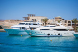Travel .Luxury boats