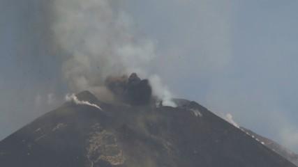 Etna volcano eruption 12/08/14