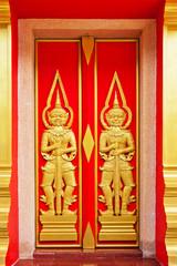 Art of temple door