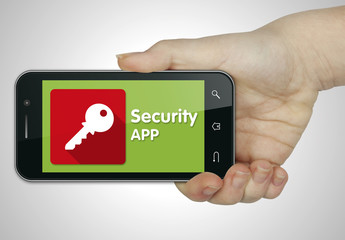 Security app. Mobile